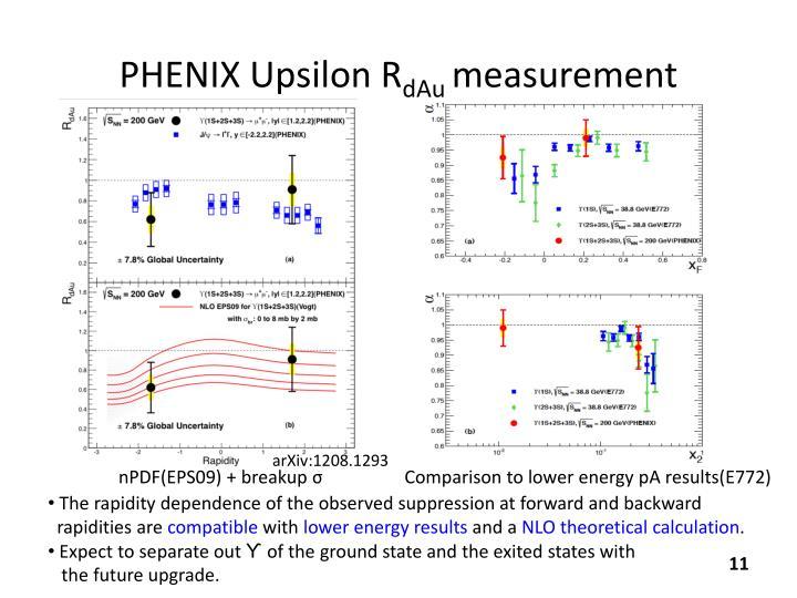 PHENIX Upsilon
