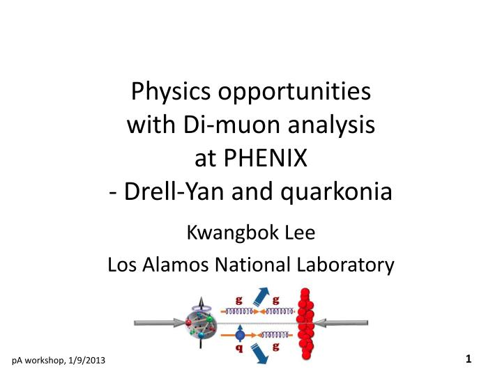Physics opportunities with di muon analysis at phenix drell yan and quarkonia