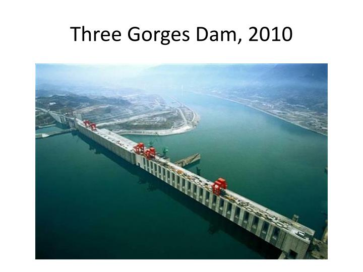 Three Gorges Dam, 2010