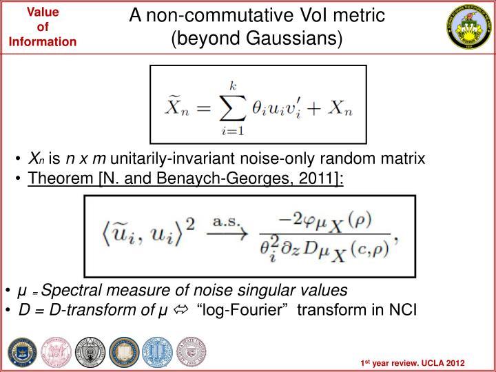 A non-commutative