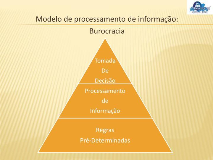 Modelo de processamento de informação: