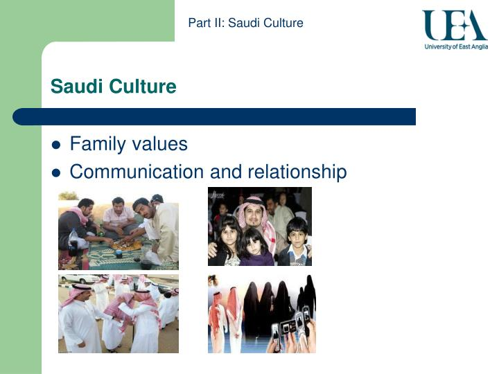 Part II: Saudi Culture