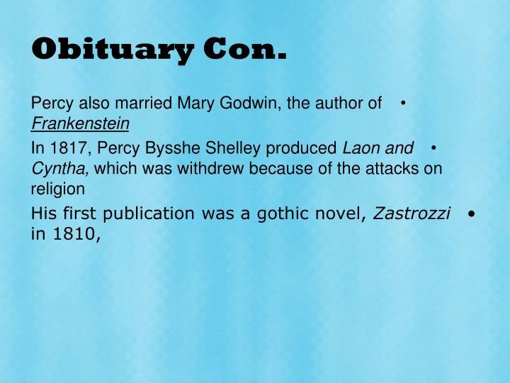 Obituary con