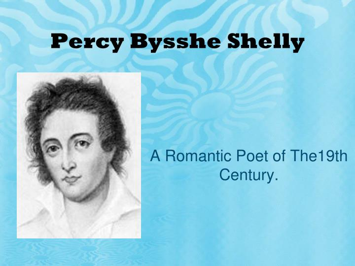 Percy bysshe shelly