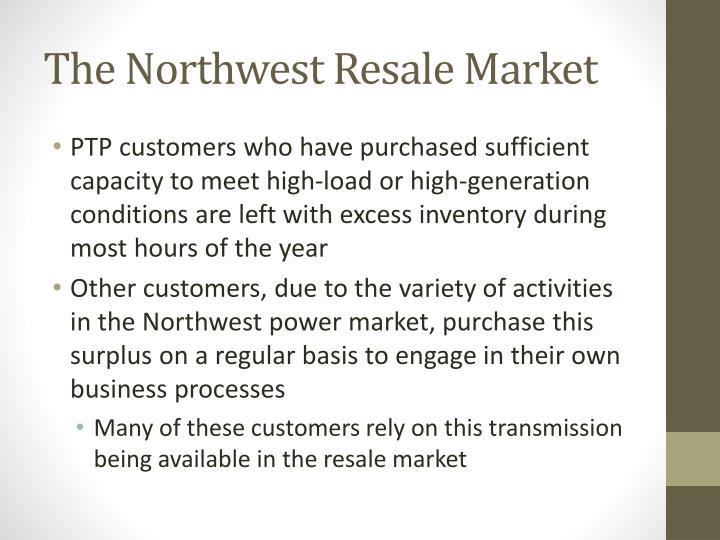 The Northwest Resale Market