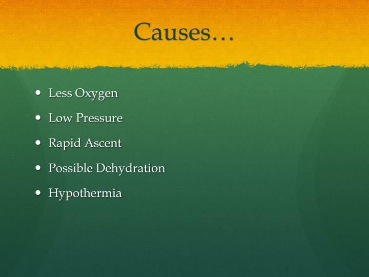 Causes