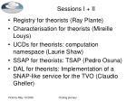 sessions i ii