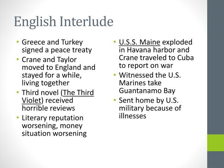 English Interlude