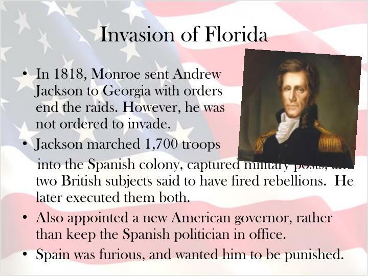 Invasion of Florida