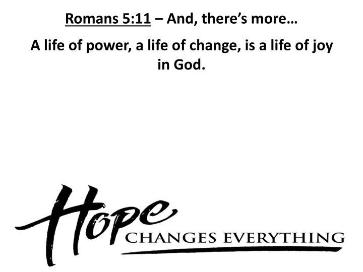 Romans 5:11