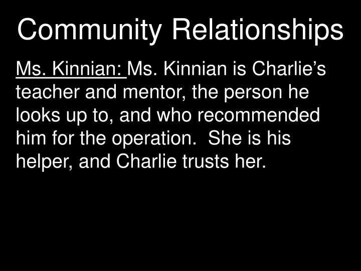 Community Relationships