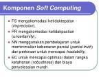 komponen soft computing1