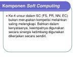 komponen soft computing2