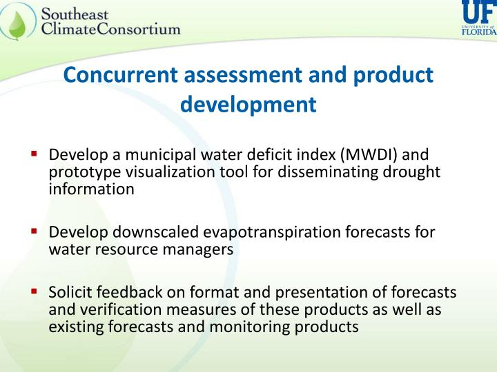 Concurrent assessment and