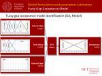 model formulation and parameters estimation fuzzy gap acceptance m odel2