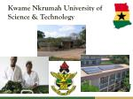 kwame nkrumah university of science technology