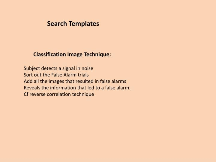 Search Templates