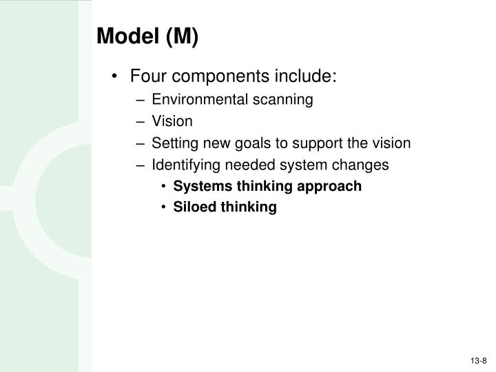 Model (M)