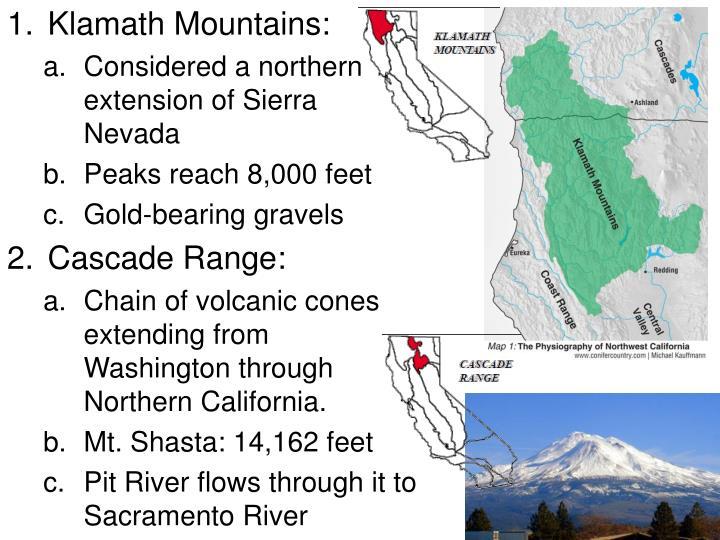 Klamath Mountains: