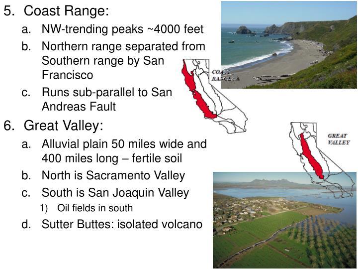 Coast Range: