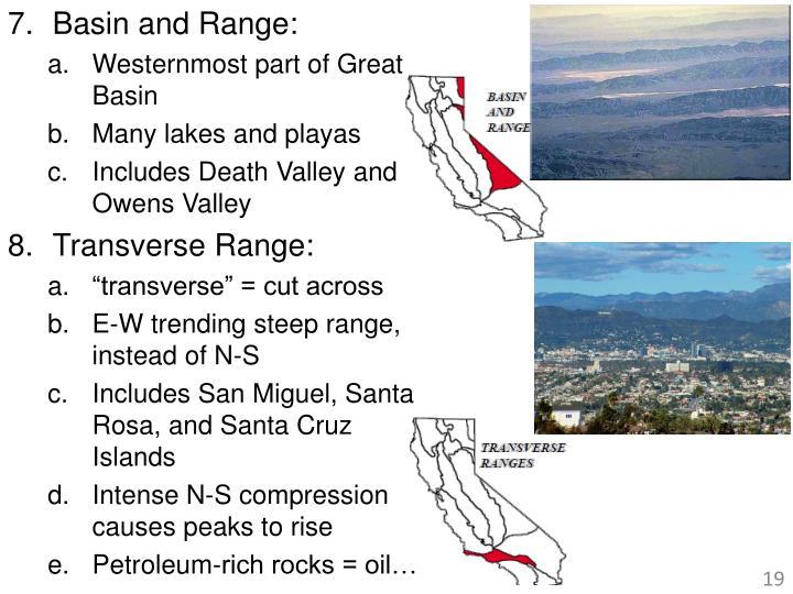 Basin and Range: