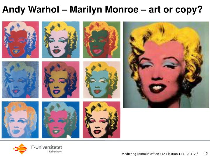 Andy Warhol – Marilyn Monroe – art