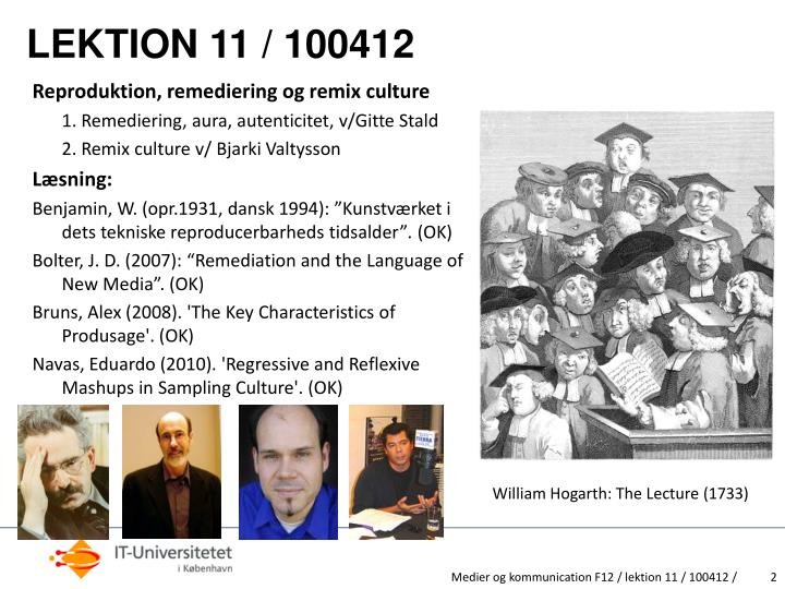 Lektion 11 100412