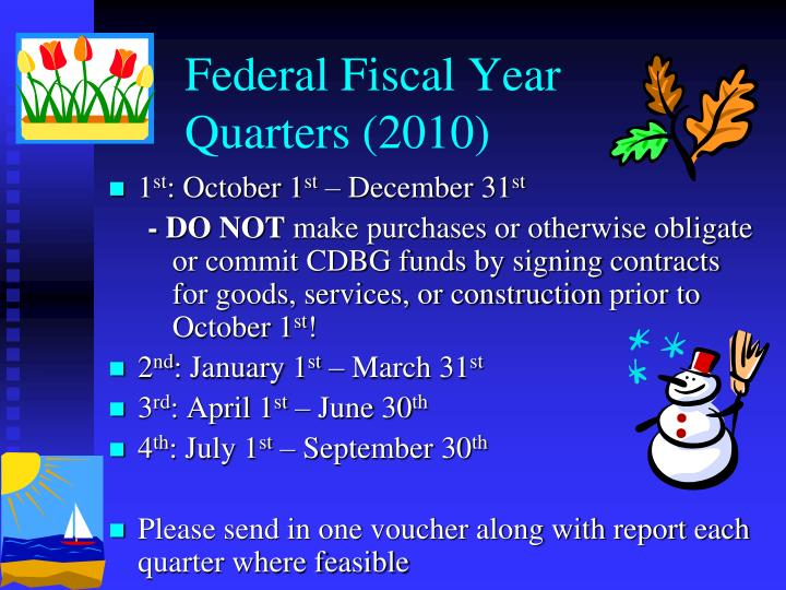 Federal Fiscal Year