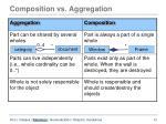 composition vs aggregation
