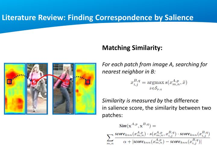 Literature Review: Finding Correspondence by Salience