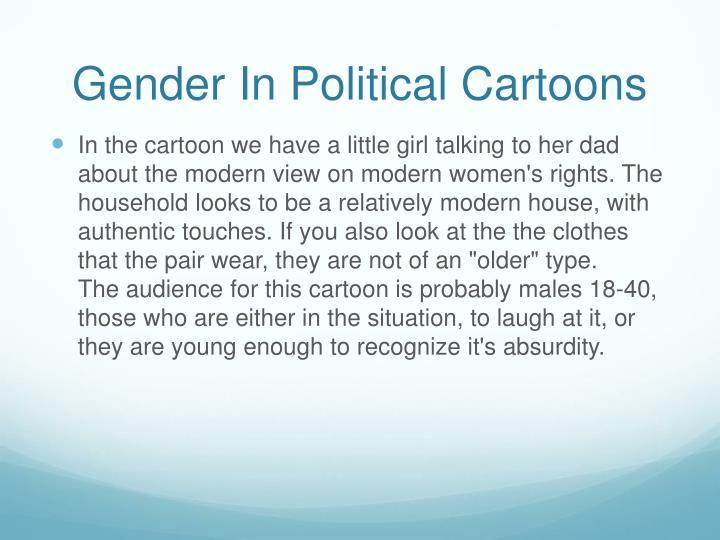 Gender In Political Cartoons