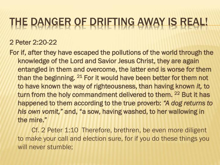 2 Peter 2:20-22