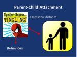 parent child attachment
