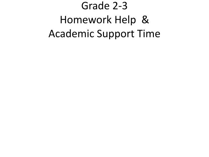 Grade 2-3