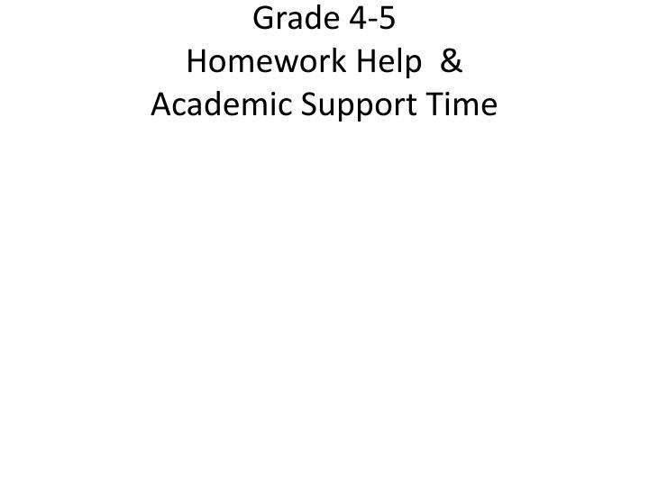 Grade 4-5
