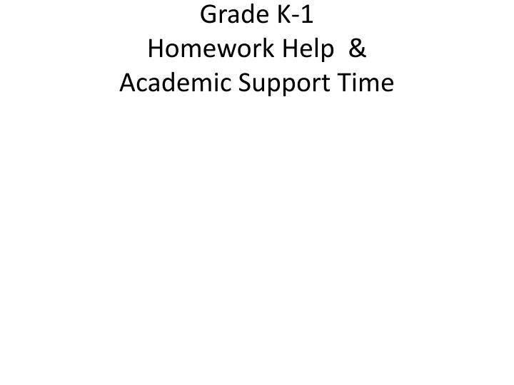 Grade K-1