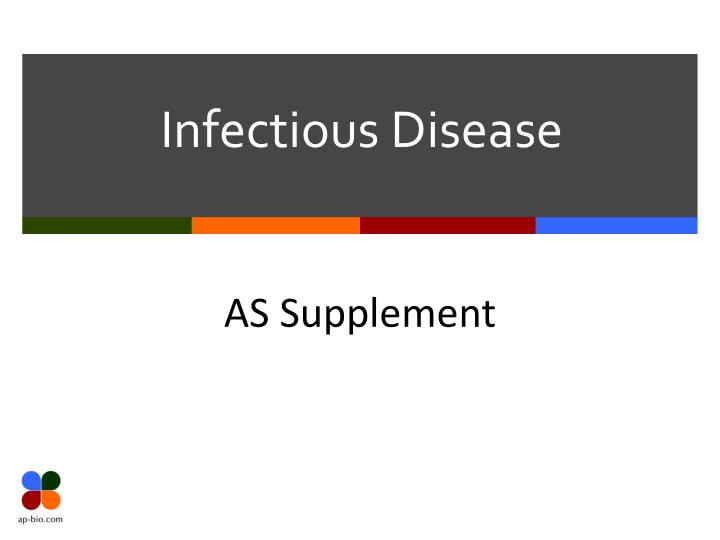 infectious disease n.