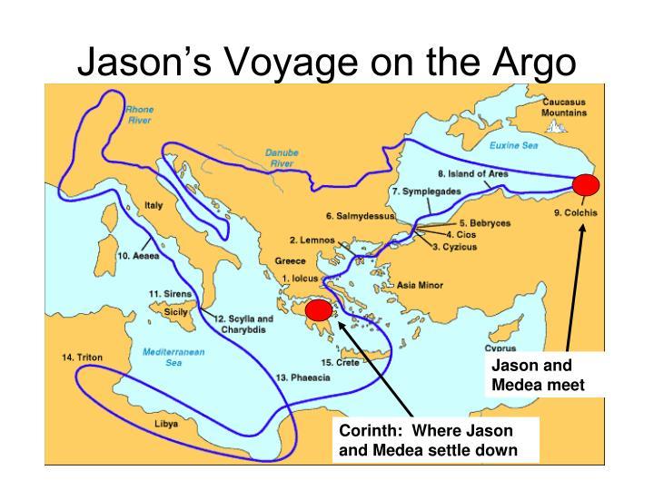 Jason's Voyage on the Argo