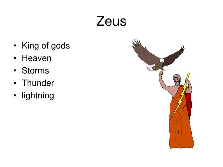King of gods