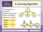 a learning algorithm