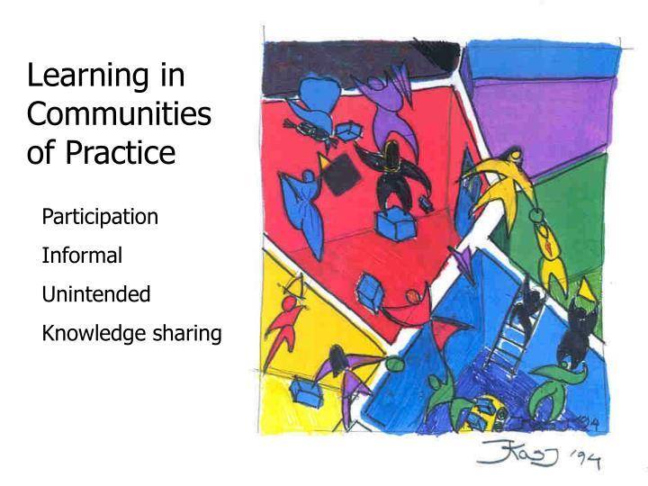 Learning in Communities