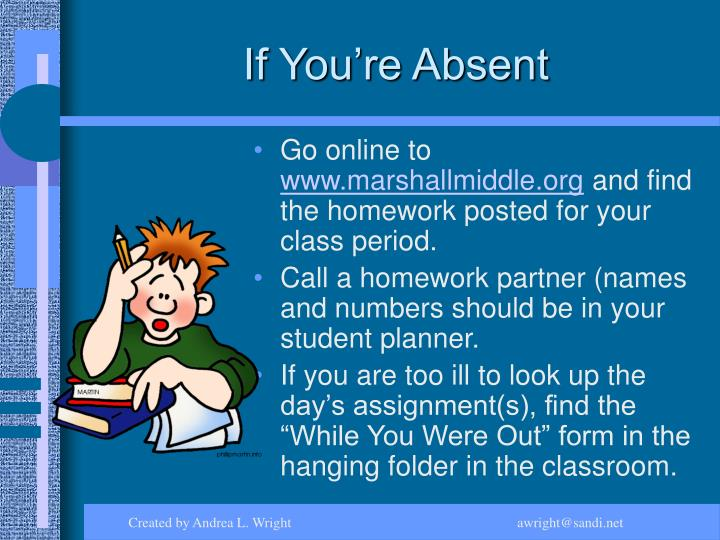 If You're Absent