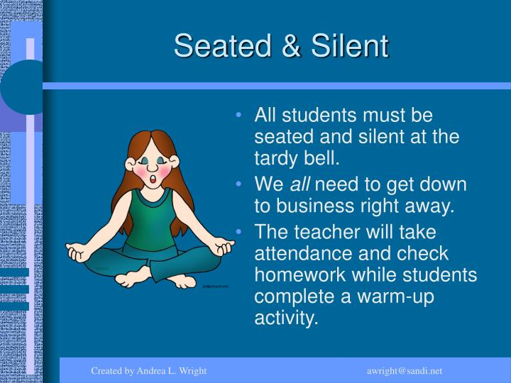 Seated & Silent