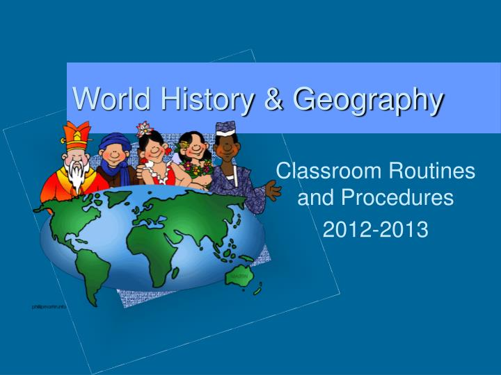 World history geography