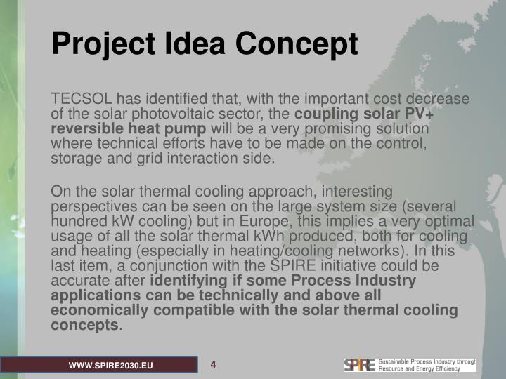 Project Idea Concept