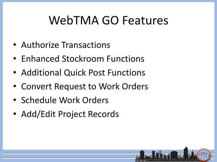 Webtma go features1
