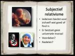 subjectief relativisme