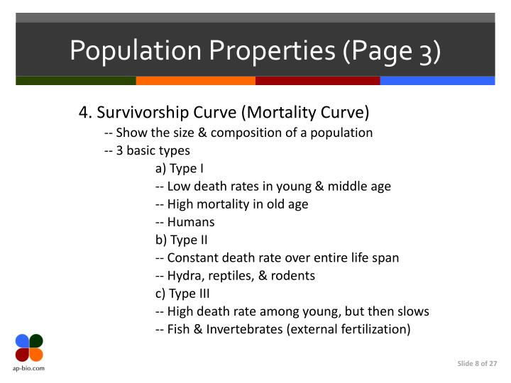 Population Properties (Page 3)