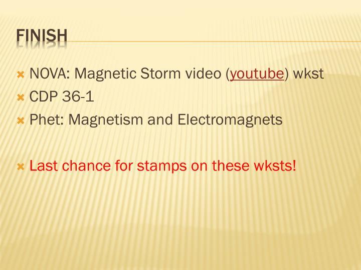 NOVA: Magnetic Storm video (