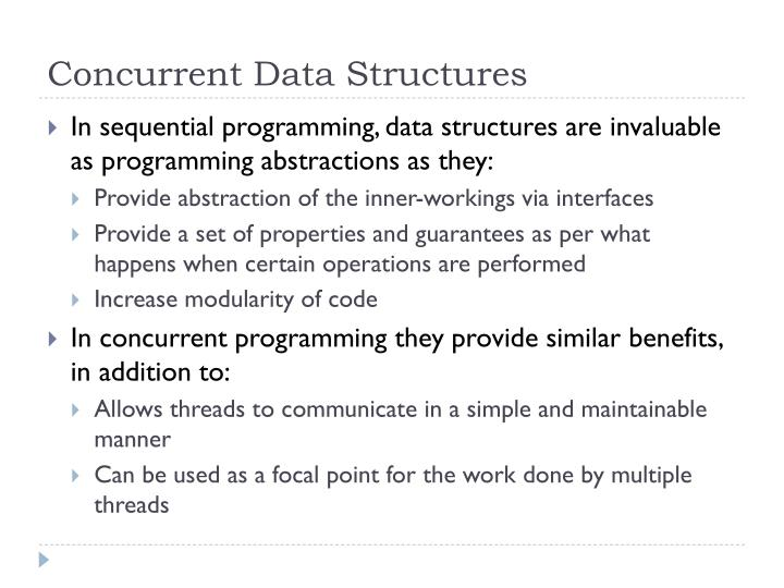 Concurrent Data Structures